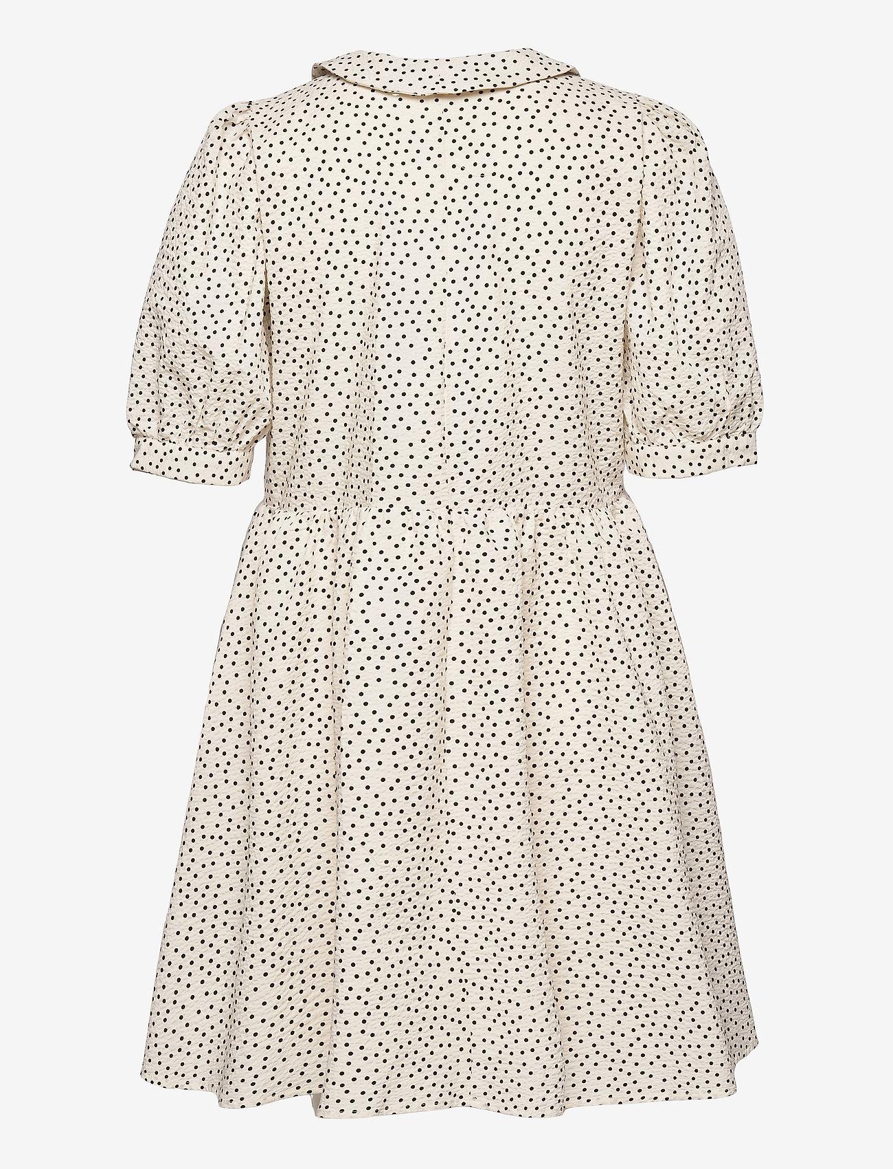 Object - OBJNOUR 2/4 DRESS 115 .C - summer dresses - sandshell - 1