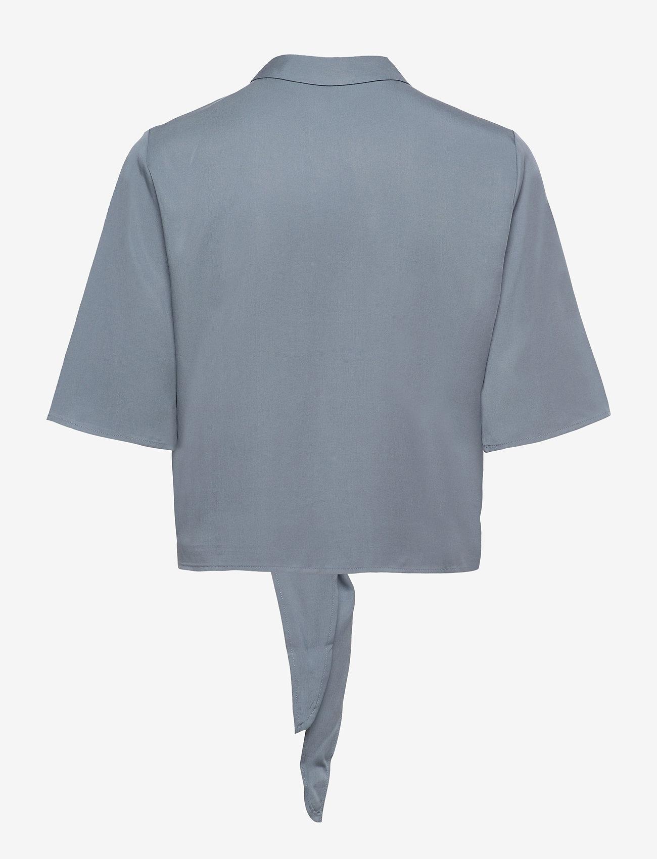 Object - OBJTILDA KARLA 2/4 SHIRT A EC SP - short-sleeved shirts - blue mirage - 1