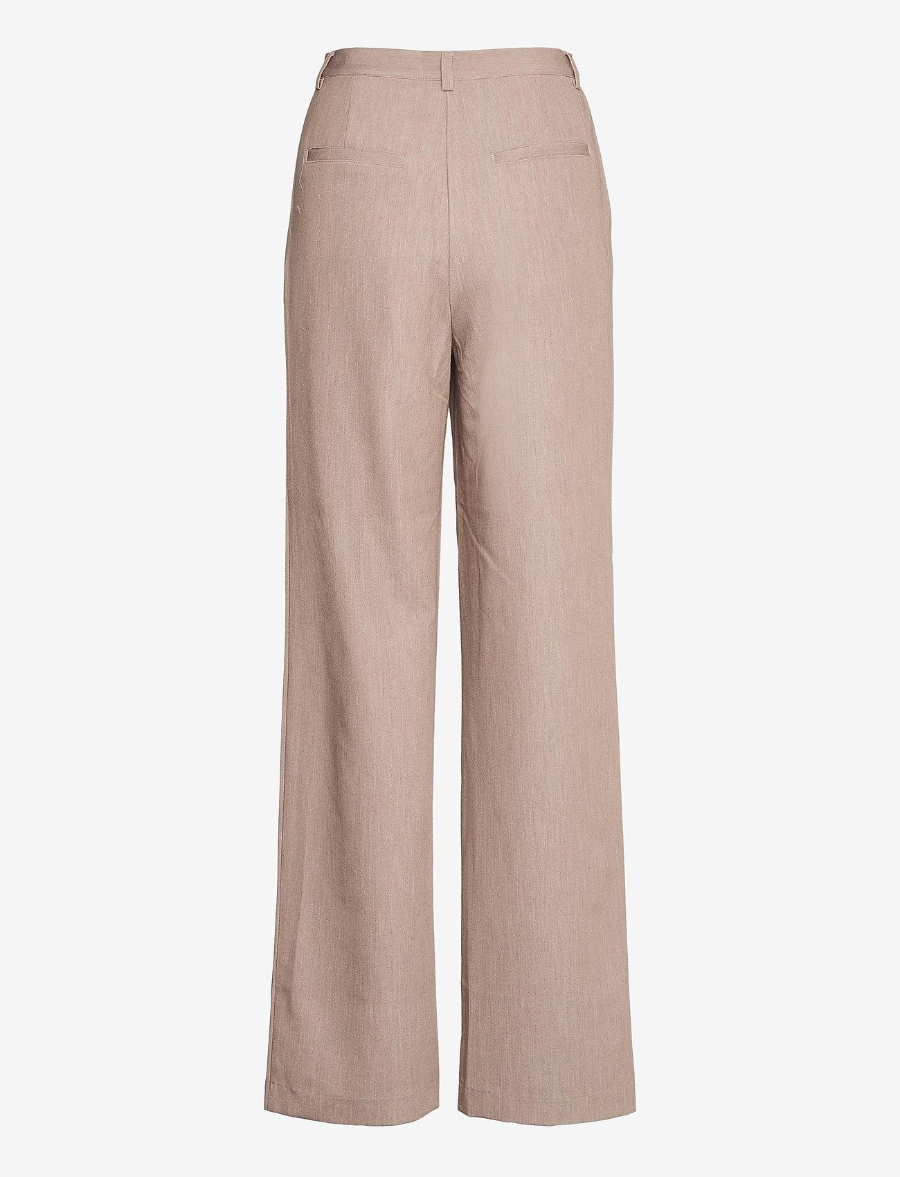 Object - OBJRITA MW TROUSERS A TC2 - straight leg trousers - humus - 1
