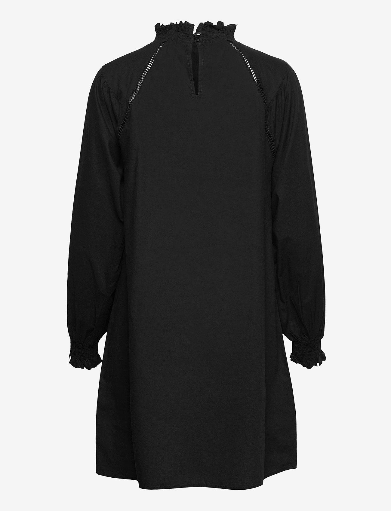 Object - OBJIRIS L/S SHORT DRESS A DIV - cocktail dresses - black - 1