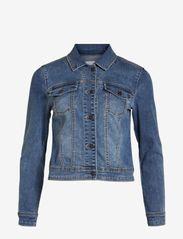 Object - OBJWIN NEW  DENIM JACKET - denim jackets - medium blue denim - 0