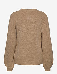 Object - OBJEVE NONSIA L/S KNIT PULLOVER - neulepuserot - incense - 1