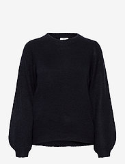 Object - OBJEVE NONSIA L/S KNIT PULLOVER - jumpers - sky captain - 0
