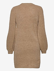 Object - OBJEVE NONSIA L/S KNIT DRESS - knitted dresses - incense - 1