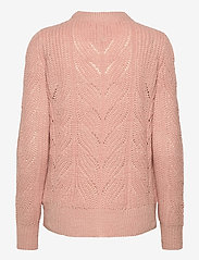 Object - OBJNOVA STELLA L/S KNIT PULLOVER - jumpers - misty rose - 1