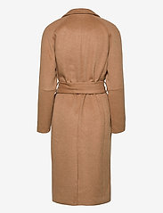 Object - OBJLENA COAT - wool coats - camel - 1