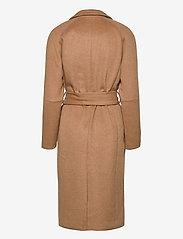 Object - OBJLENA COAT - wool coats - camel - 1