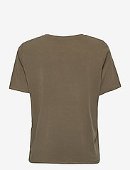 Object - OBJANNIE S/S T-SHIRT - t-shirts - burnt olive - 1