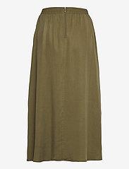 Object - OBJTILDA HW SKIRT SC - midi skirts - burnt olive - 1