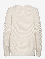 Object - OBJRANICE LONG L/S KNIT PULLOVER DIV - sweaters - sandshell - 1