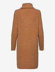 Object - OBJRACHEL L/S KNIT DRESS - everyday dresses - chipmunk - 1