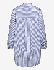 Object - OBJALMAS L/S LONG SHIRT - long-sleeved shirts - sky captain - 1