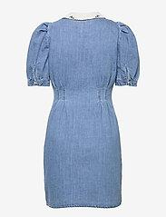Object - OBJZOE 2/4 DENIM DRESS - medium blue denim - 1
