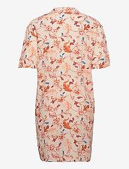 Object - OBJOBDULIA S/S SHIRT - summer dresses - sandshell - 1