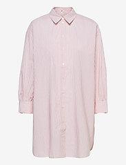 Object - OBJMAHIN 7/8 SHIRT - pitkähihaiset paidat - bright white - 0