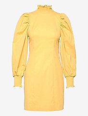 Object - OBJKAMALI L/S DRESS - cocktail dresses - bamboo - 0