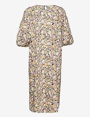 Object - OBJJASIA 3/4 MIDI DRESS 114 - summer dresses - sandshell - 0