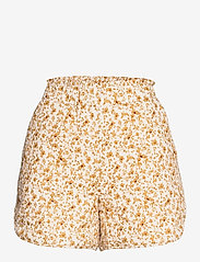 Object - OBJNELIA MW QUILTED SHORTS - shorts casual - sandshell - 0