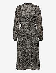 Object - OBJASTA MILA L/S DRESS A LMT - maxi dresses - black - 1