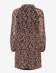 Object - OBJBELLE GIA L/S DRESS A Q - everyday dresses - black - 1