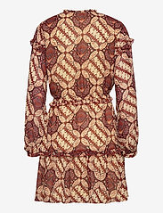 Object - OBJGRIVA L/S SHORT DRESS A OFW - party dresses - gardenia - 1
