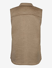 Object - OBJVERA OWEN S/L VEST A DIV - knitted vests - fossil - 1