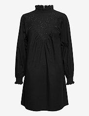 Object - OBJIRIS L/S SHORT DRESS A DIV - cocktail dresses - black - 0