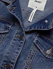 Object - OBJWIN NEW  DENIM JACKET - denim jackets - medium blue denim - 2