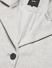 Object - OBJLENA COAT - wool coats - light grey melange - 2