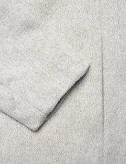 Object - OBJLENA COAT - wool coats - light grey melange - 3