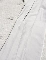 Object - OBJLENA COAT - wool coats - light grey melange - 4