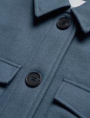 Object - OBJCHILE JACKET - wool coats - blue mirage - 2