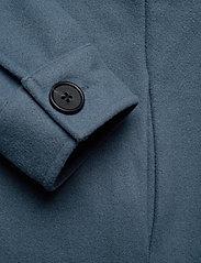 Object - OBJCHILE JACKET - wool coats - blue mirage - 3