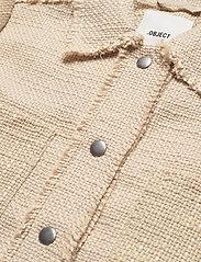 Object - OBJBOBBIE L/S JACKET - blazers - humus - 2