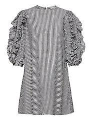 OBJHANNA 3/4 DRESS - SKY CAPTAIN