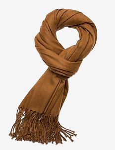 OBJMARILYN WOOL SCARF - scarves - chipmunk