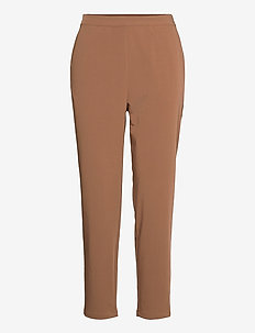 OBJCECILIE NEW MW 7/8 PANTS - suorat housut - partridge