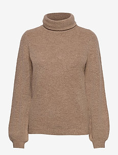 OBJEVE NONSIA ROLLNECK PULLOVER - jumpers - incense