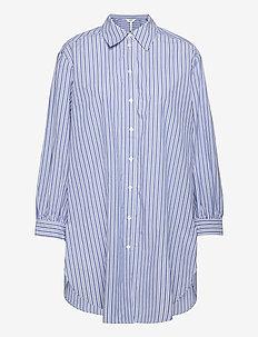 OBJALMAS L/S LONG SHIRT - long-sleeved shirts - sky captain