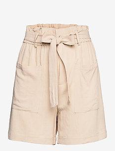 OBJHADY SHORTS - paper bag shorts - sandshell