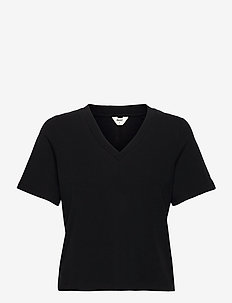 OBJJADE S/S TOP 115 - t-shirt & tops - black
