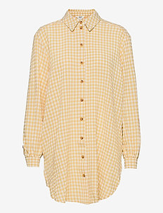 OBJTAMAR L/S SHIRT 115 .C - långärmade skjortor - bamboo