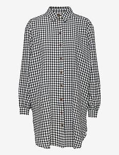 OBJTAMAR L/S SHIRT 115 .C - långärmade skjortor - black