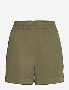 OBJTILDA HW SHORTS - casual shorts - deep lichen green