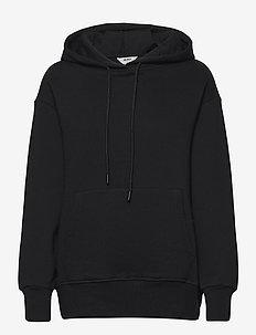 OBJFELICA L/S HOODIE A DIV - hoodies - black
