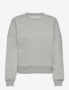OBJNINY L/S PULLOVER A FAIR - svetarit - light grey melange