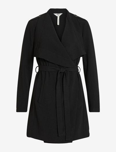 OBJANNLEE SHORT JACKET - light coats - black