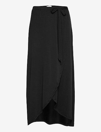 OBJANNIE SKIRT - wrap skirts - black