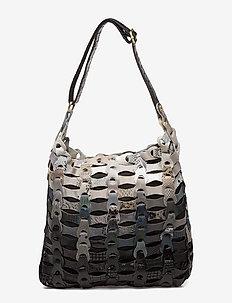 Annabellas - shoulder bags - black/grey