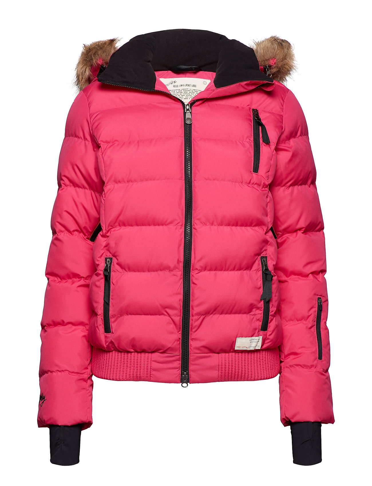 ODD MOLLY ACTIVE WEAR glorious jacket - HOT PINK